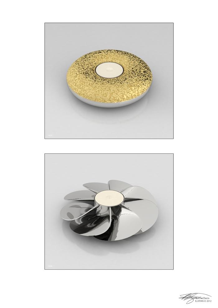 BJRdesigns Tealight Holder Designs