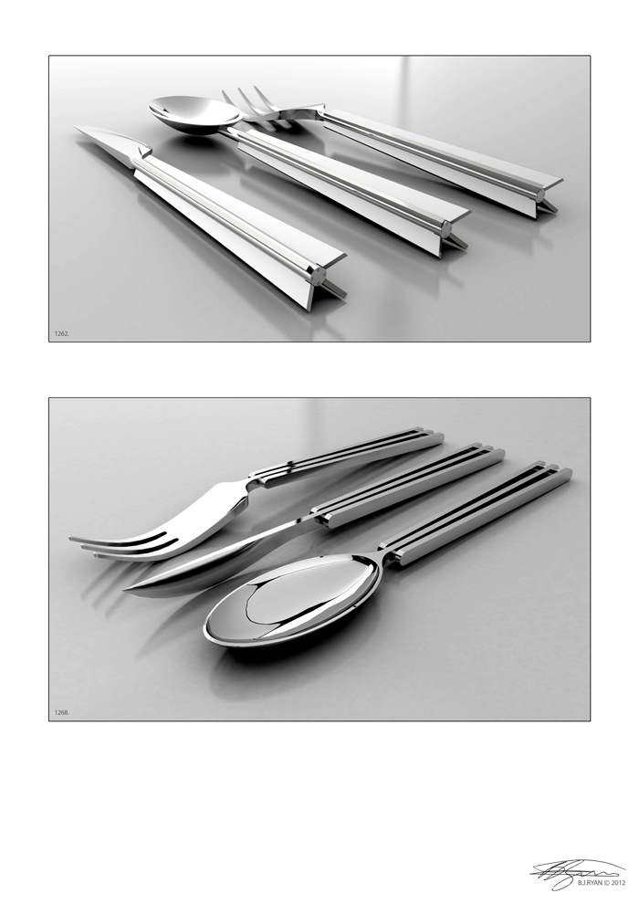 BJRdesigns Template Cutlery Designs