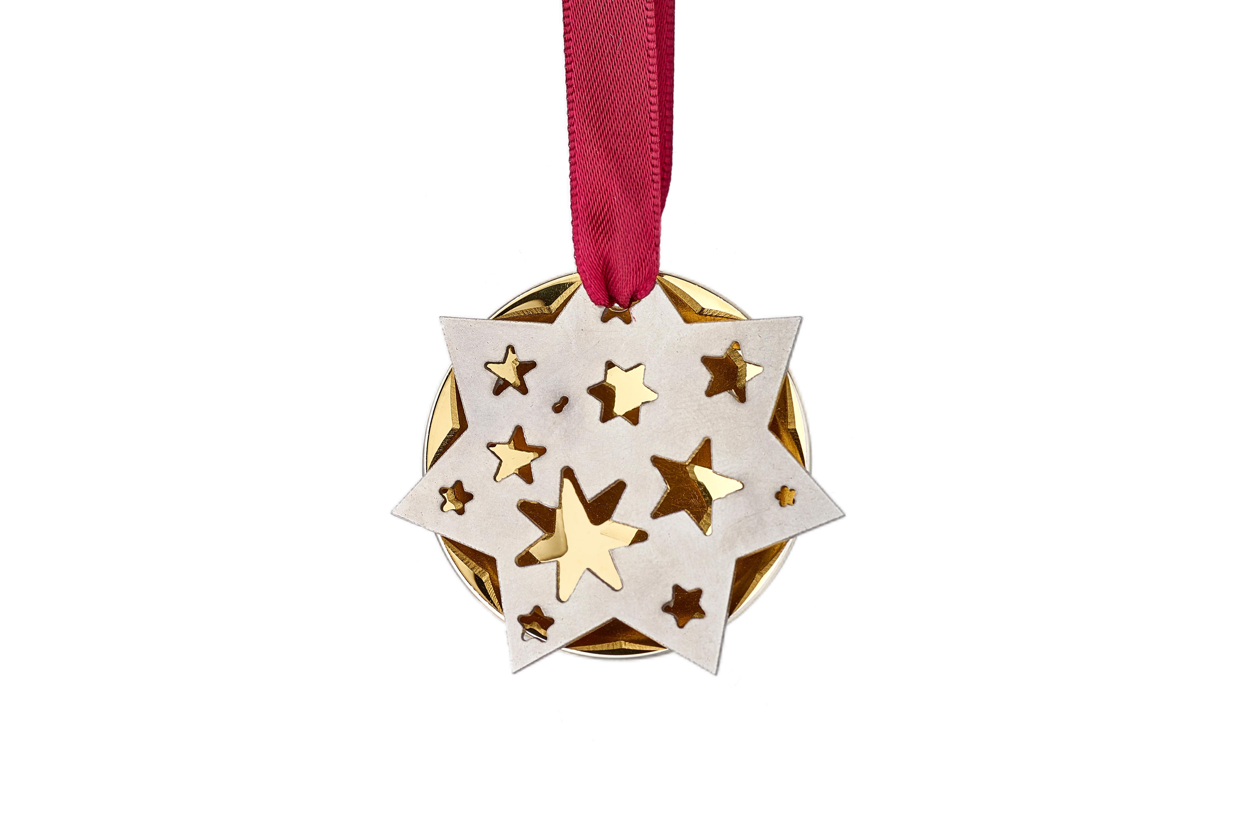 Domed Star Snowflake – Copyright BJRdesigns