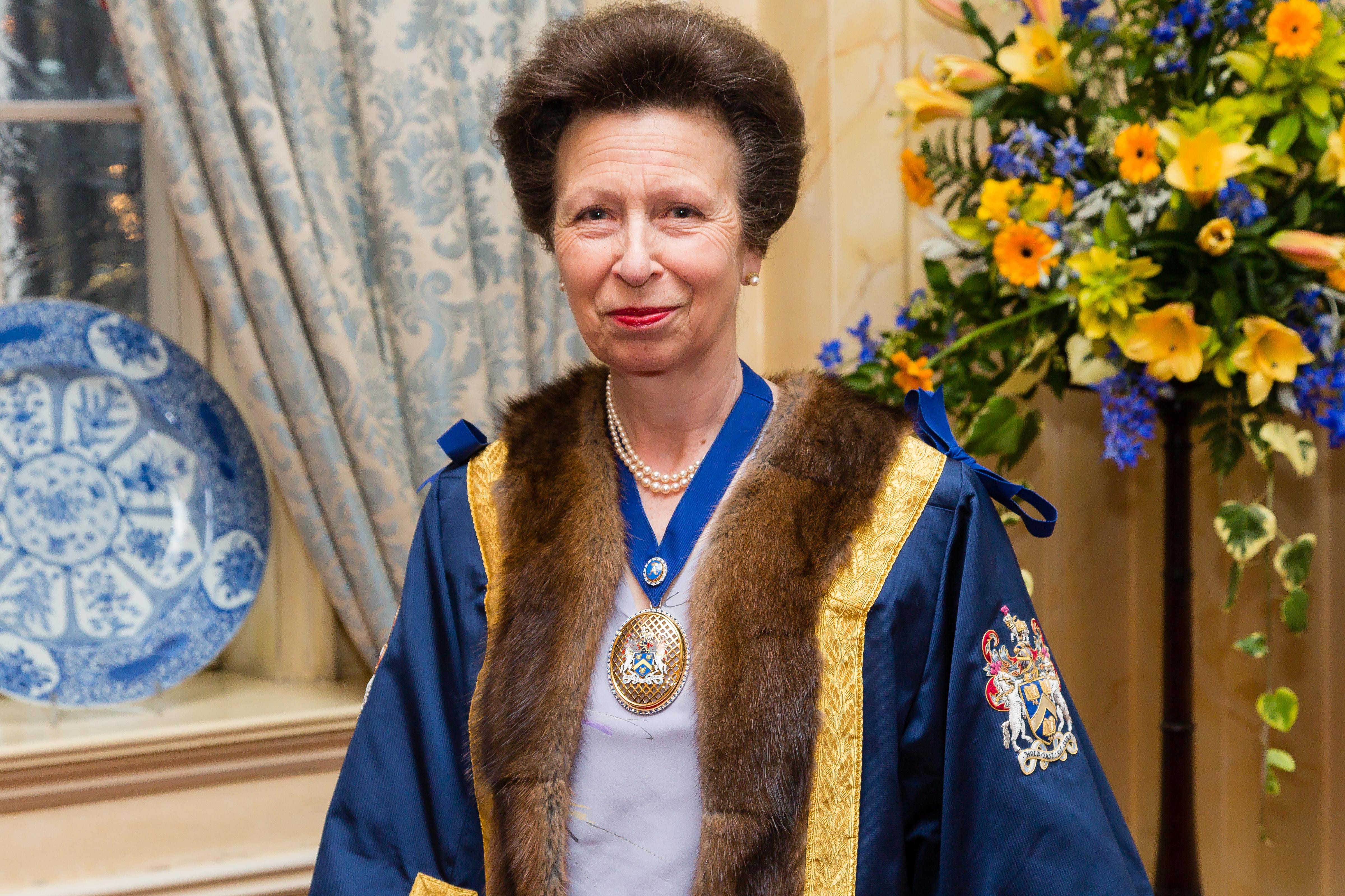 HRH Princess Anne Saddlers Company Perpetual Masters Badge – The Princess Royal – Copyright BJRdesigns