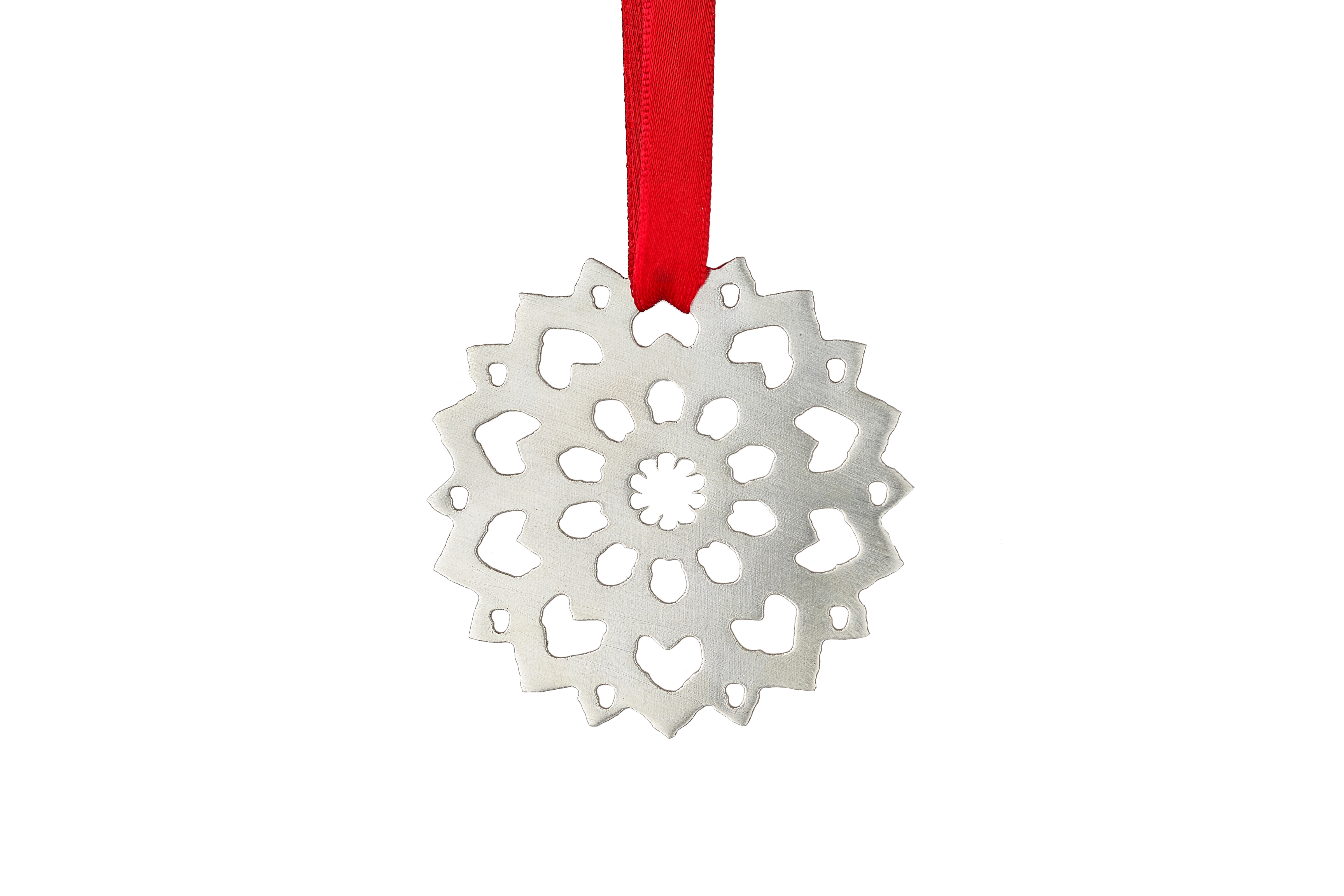 Medium Frosted Snowflake 3 – Copyright BJRdesigns