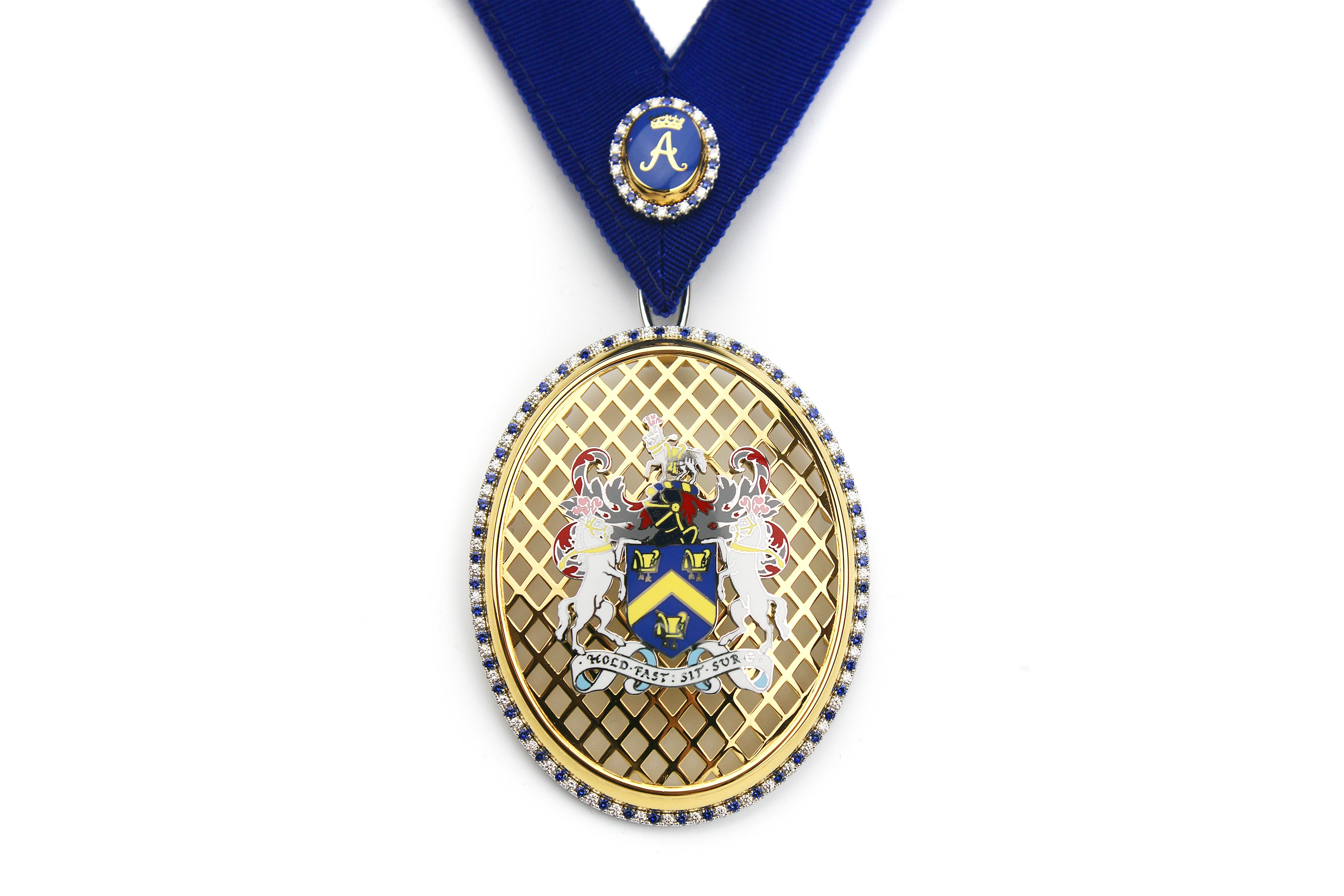 Saddlers Company Perpetual Masters Badge – Copyright BJRdesigns