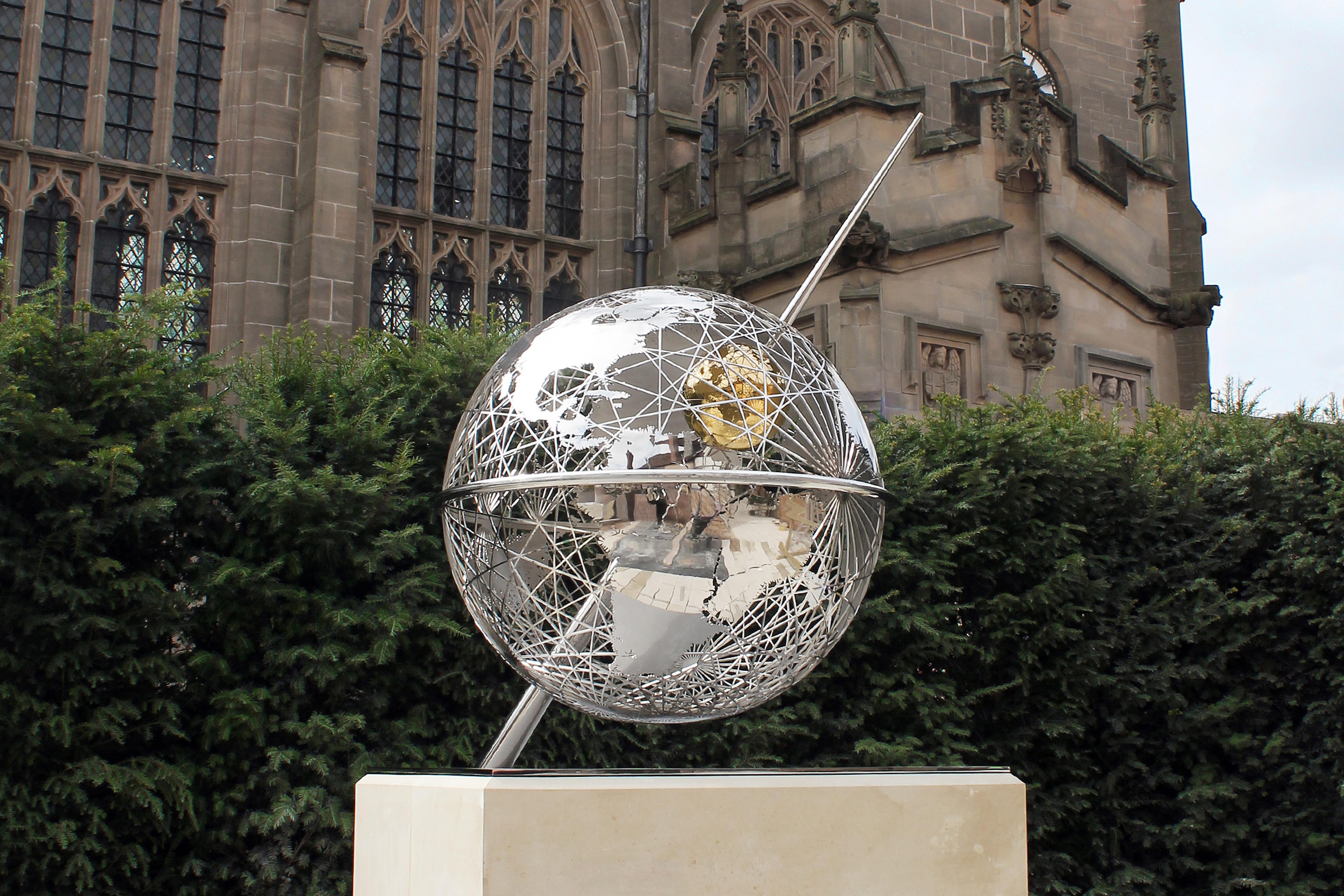 Terrestrial Sphere – Copyright BJRdesigns