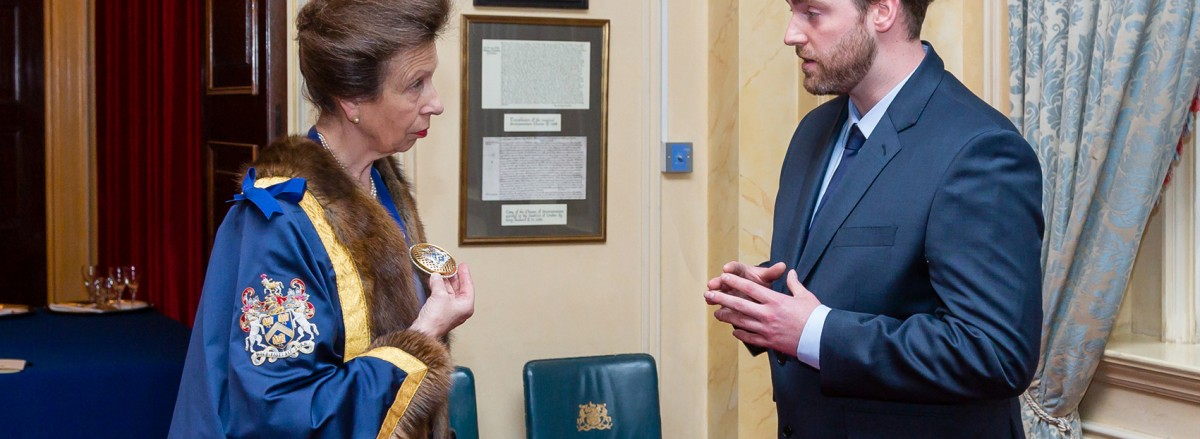 HRH The Princess Royal & Benjamin James Ryan - Photo Credit Mark Witter