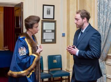 HRH The Princess Royal & Benjamin James Ryan - Photo Credit Mark Witter