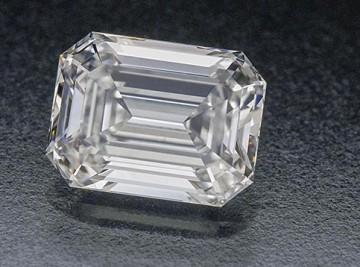 Diamond emerald cut shape  D, VS2-  1.050ct.01