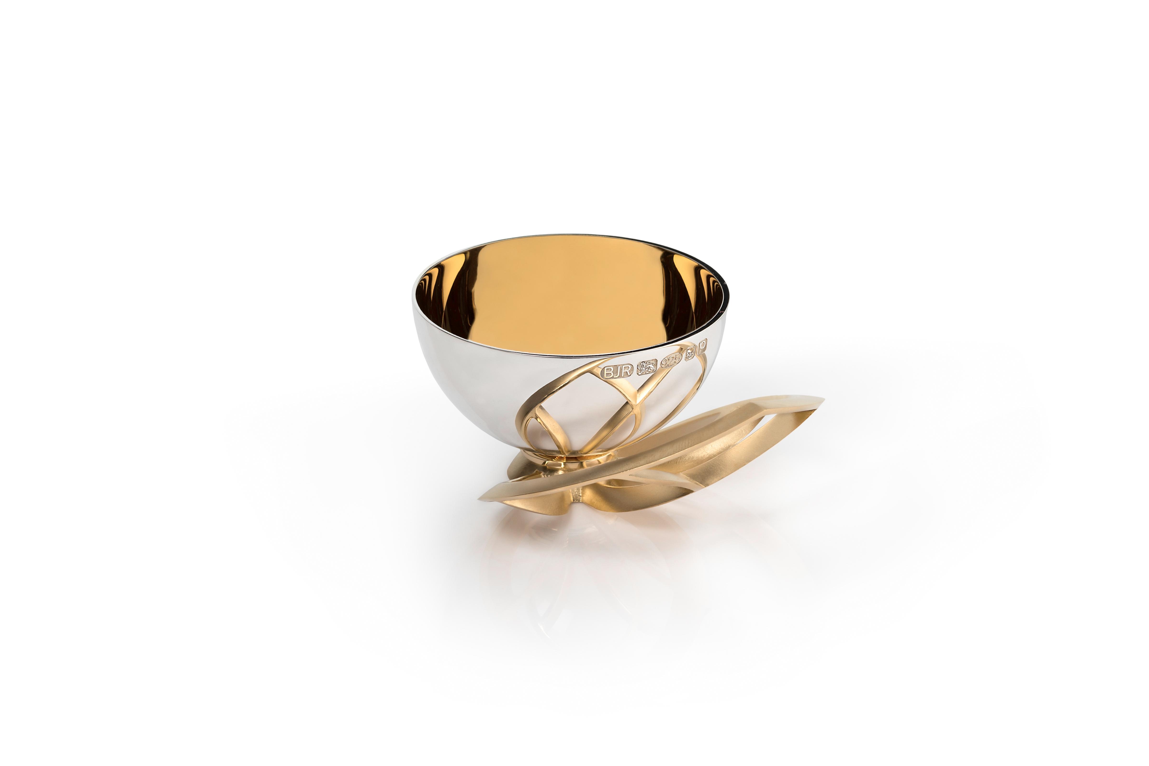 Luxus Pinch Pot Leaf Design – Copyright BJRdesigns