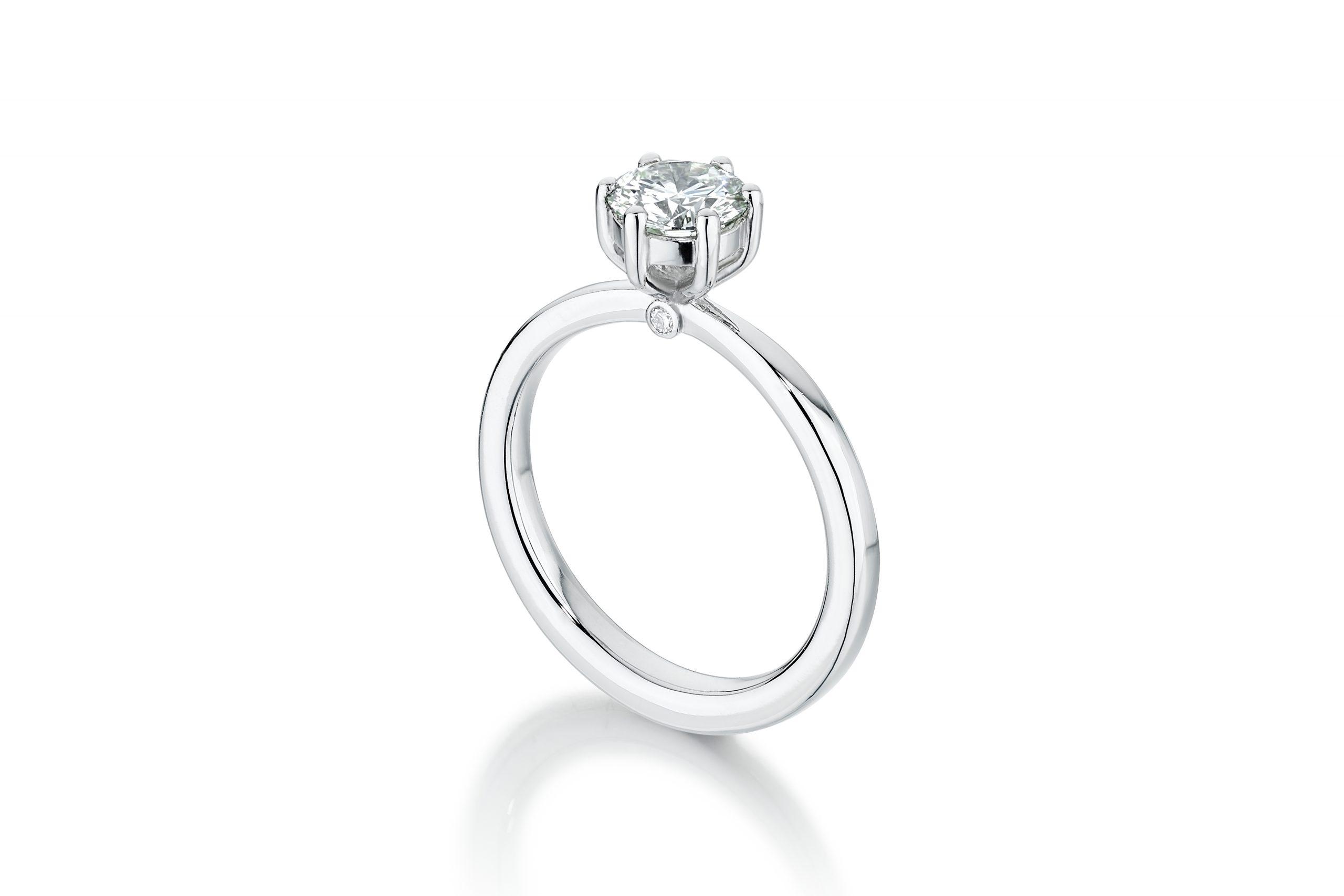 6 Claw Engagement Ring – Copyright BJRdesigns